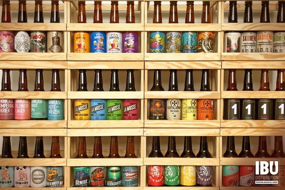 ibu distribution point de vente rayon bières
